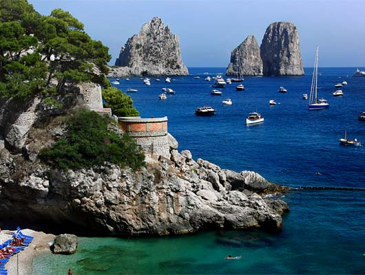 excursion to Capri